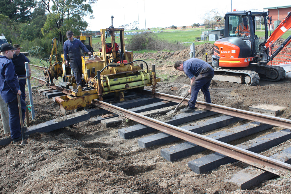 Duratrack Railway Sleepers – Integrated Recycling