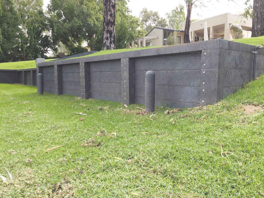 Retaining Walls Integrated Recycling