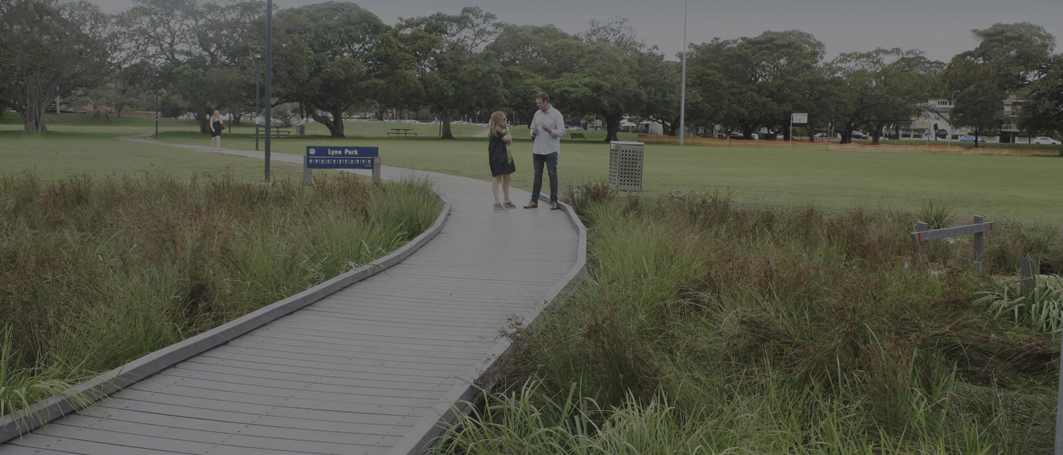 Integrated Recycled Plastic Boardwalk