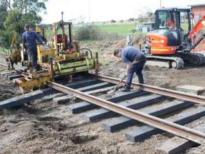 Integrated Recycled Plastic Railway Sleepers